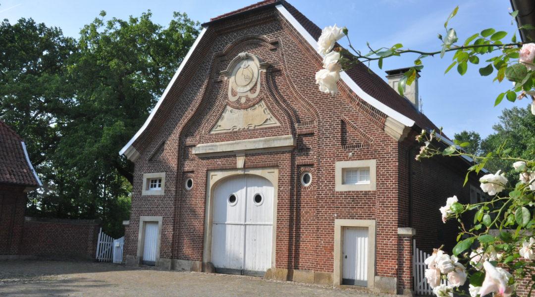 Südseite des Haus Rüschhaus. Foto: Sandra Siuts