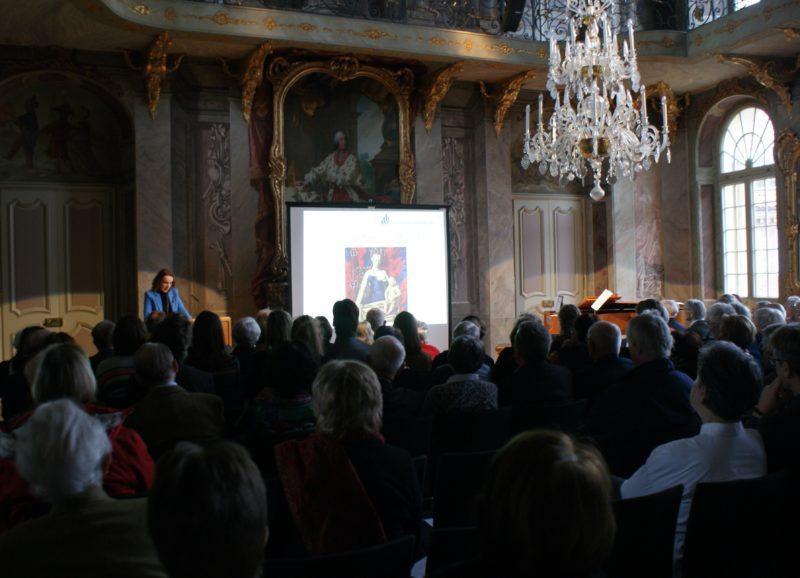 Matinee zum 223. Geburtstag der Annette von Droste-Hülshoff im Erbdrostenhof am 12.01.2020. Copyright: Claudia Ehlert.