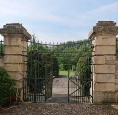 Am Sonntag, 23. August 2020, führt Baronin Dr. Mechthild Frfr. Raitz von Frentz durch ein ein verstecktes Kleinod westfälischer Gartenkunst. Copyright: Mechthild Raitz von Frentz