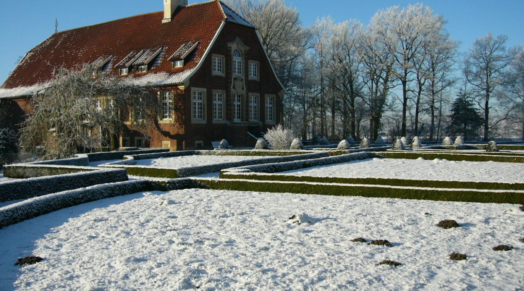 Rüschhaus im Schnee, Foto: Horst Plate
