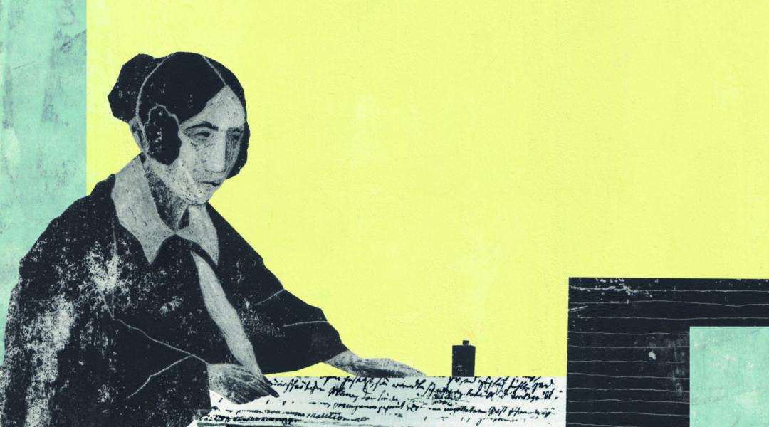 """""""Dichterin im Lockdown"""". Statt der abgesagten Matinee ein Blick in die Vorzüge eines Lebens im Rückzug."""