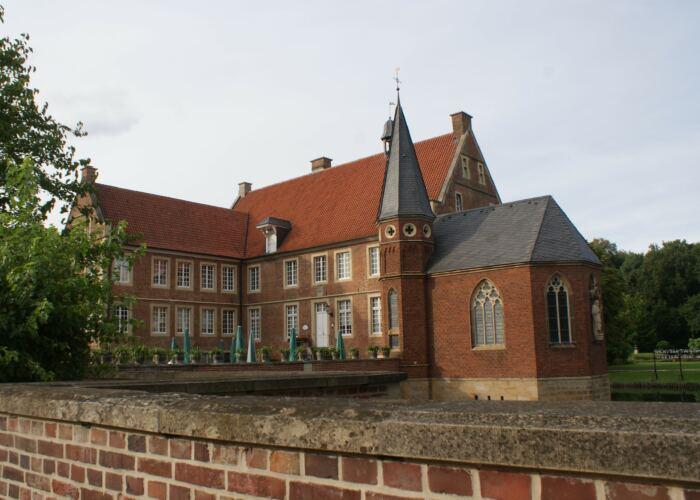 Burg Hülshoff. Copyright: Claudia Ehlert